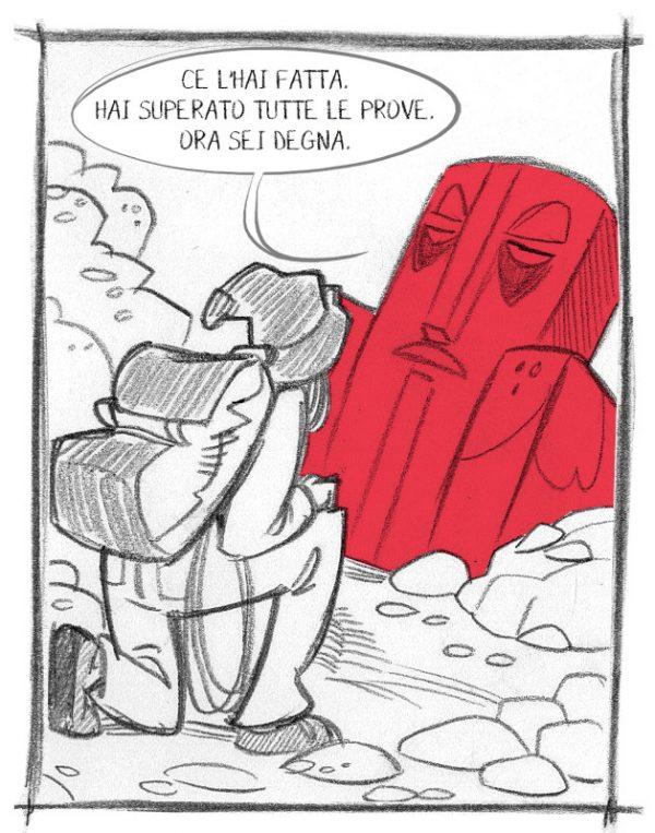 1_Immagine esempio fumetto ( da Qui sta il BUSILLIS)
