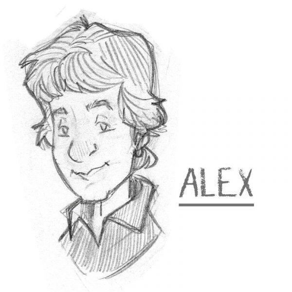 caricatura di ALEX CRIPPA