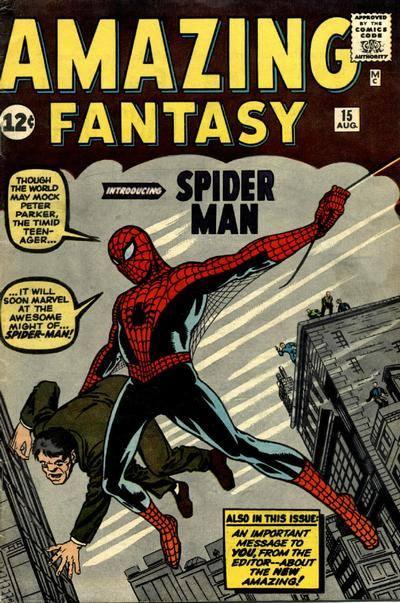 Cover di Amazing Fantasy #15