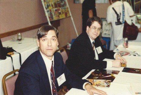 Bob Layton e VanHook ai tempi della Valiant