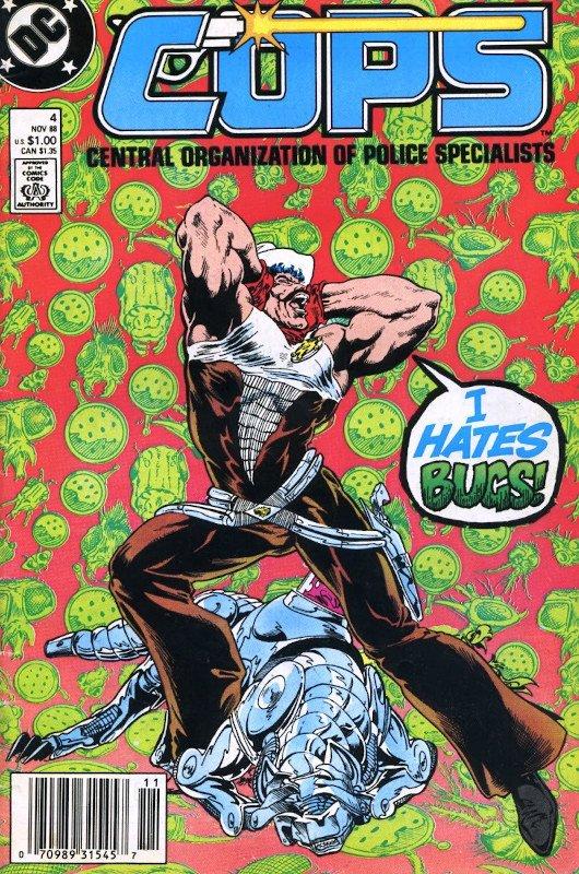 C.o.p.s. DC (primo lavoro in DC di Bart Sears