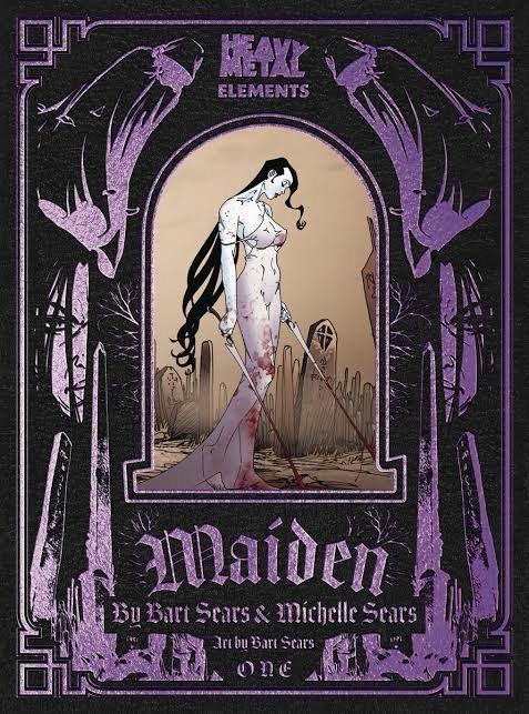 Cover dell'albo #1 su 8 di Maiden di Michelle e Bart Sears