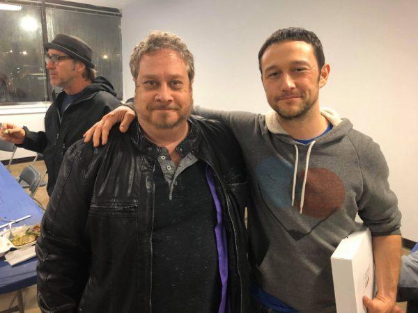 Kevin VanHook e Joseph Gordon-Lewitt (sul set di Project Power)