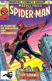 Cover di Marvel Tales #137 prima ristampa ufficiale della cover di Amazing Fantasy #15