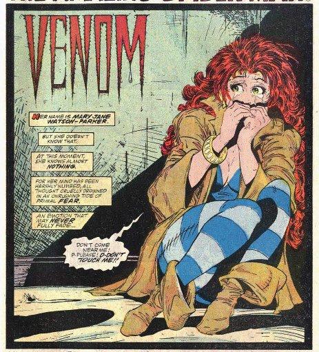 """Mary Jane In """"Venom"""" su Amazing Spider-Man #300"""