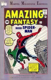 Cover della versione Milestone di Amazing Fantasy #15