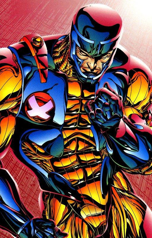 X-O Manowar nella versione di Bart Sears