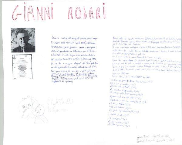 """cartellone di uno studente d una  classe prima dell'ICC """"Bastiano Genovese"""" di Barcellona P.G."""