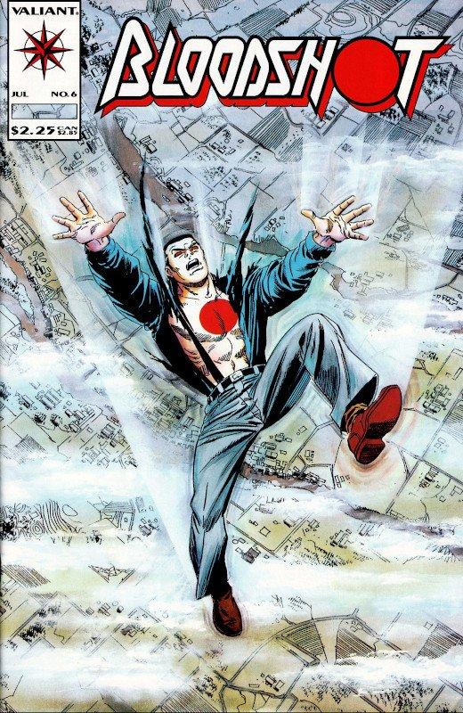 cover-blooshot #6 (Valiant Comics)