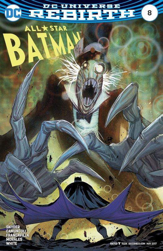 All Star Batman #8_Cover-disegni di G.Camuncoli