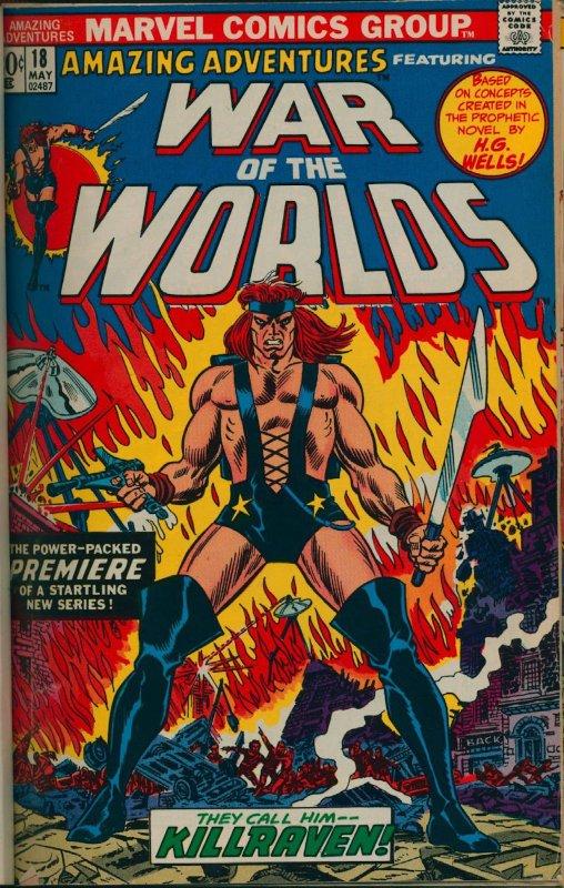Amazin adventures_War of the Worlds_killraven