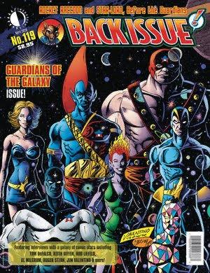Cover della rivista Backissue #119