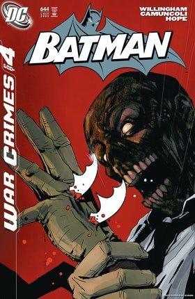 Batman War games_Cover