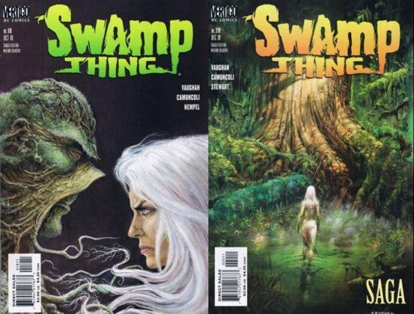Due cover di SWAMP THING, disegnata da G.Camuncoli.jpeg