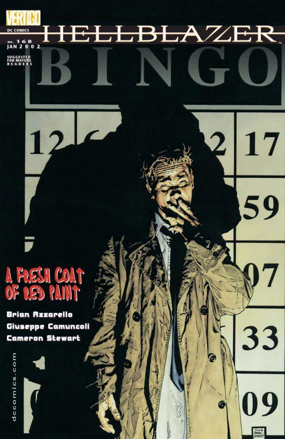 Hellblazer #168_COVER_con una storia di Camuncoli