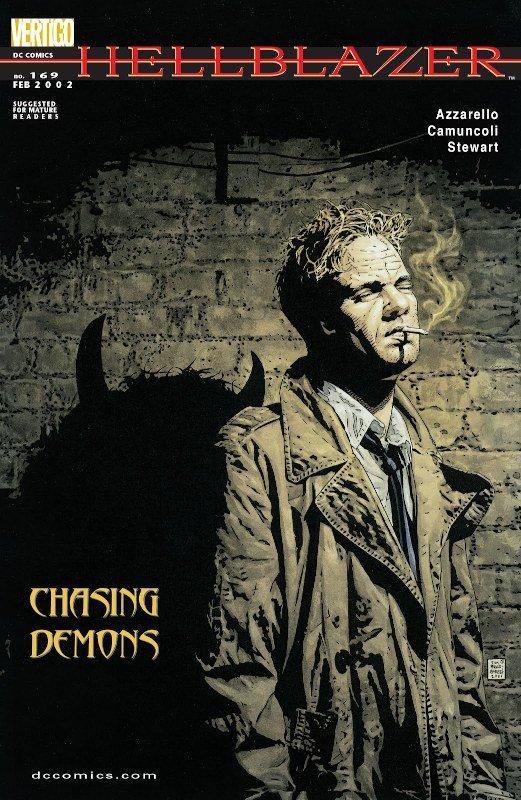 Hellblazer #169_COVER_con una storia di Camuncoli
