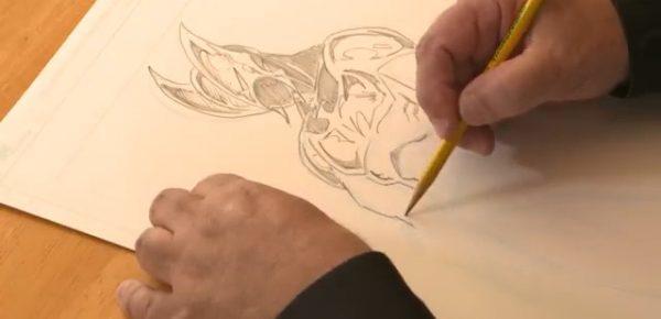 Jim-Valentino-mentre-disegna