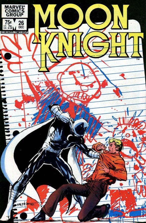 Cover dell'albo Moon Knight #26
