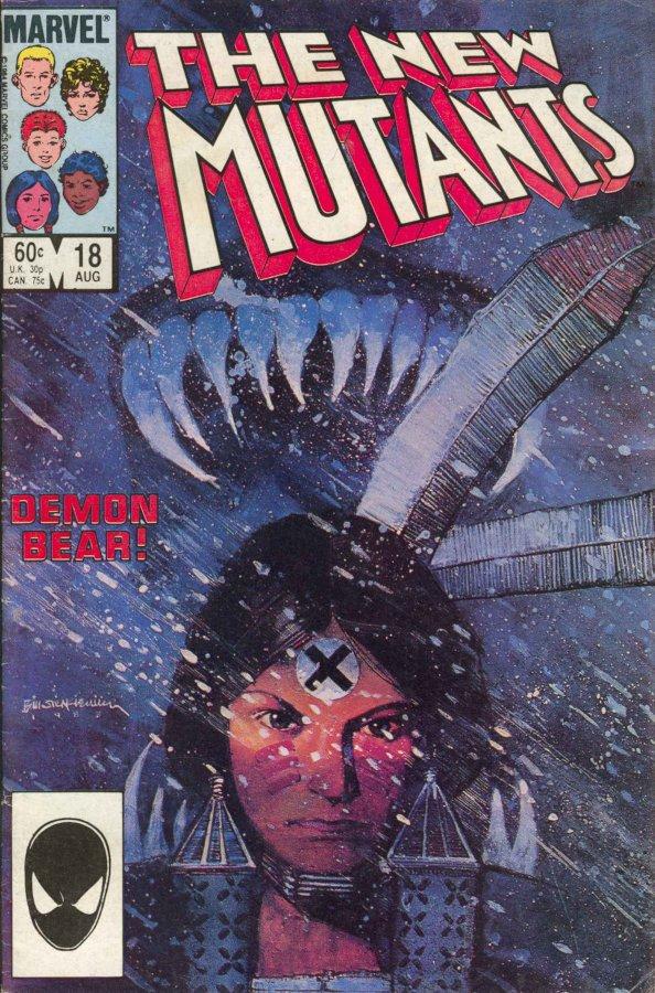 Cover New Mutants #18