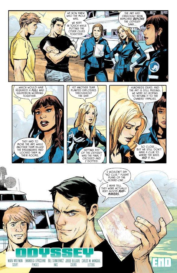 Page of Detective Comics #1027 - Odyssey_Emanuela Lupacchino e Bill Sienkiewicz