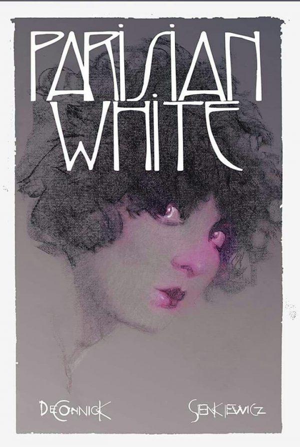 Cover del volume Parisian White con Kelly Sue De Connick