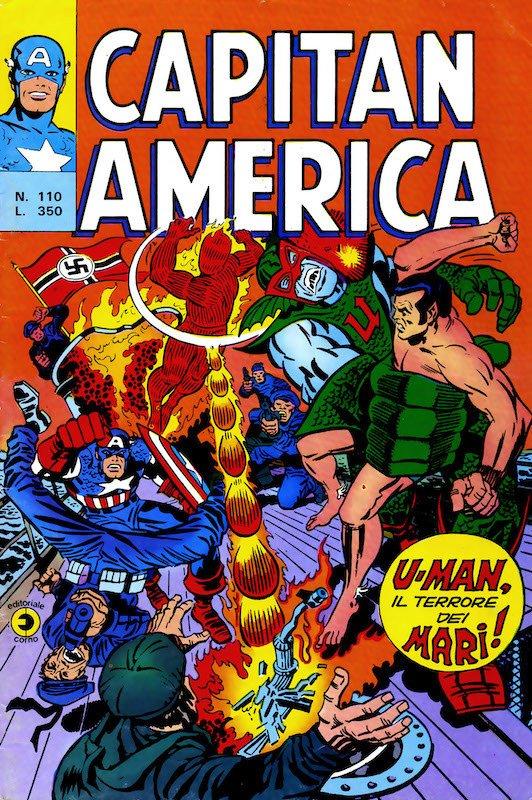 "CAPITAN AMERICA (n°110 ""U-Man1, il terrore dei mari)"