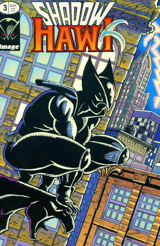 cover #3 di shadowhawk di Jim Valentino