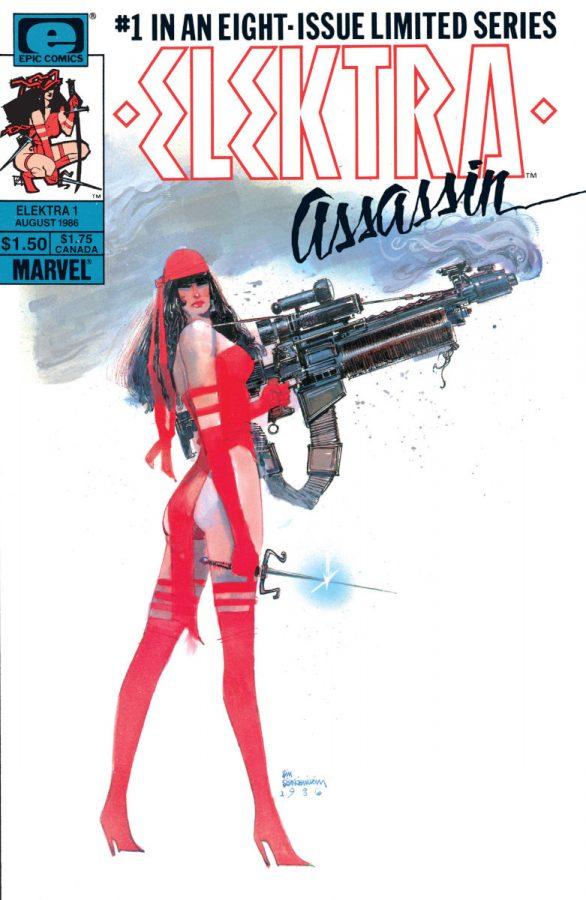 Cover Elektra Assassin #1