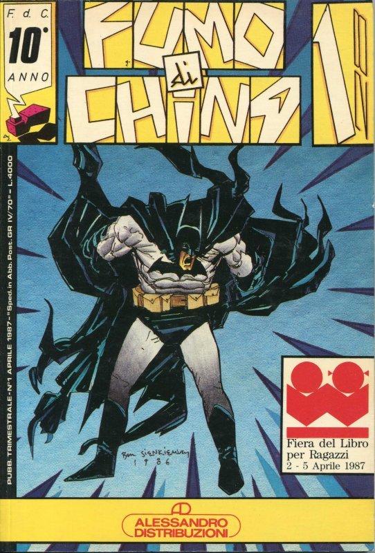 La copertina disegnata da Sienkiewicz (anno 1987)