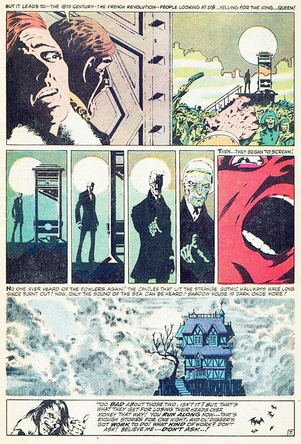 "pagina-TowerofShadows #1 (""At the Stroke of Midnight!"" - Marvel Comics - September 1969)"