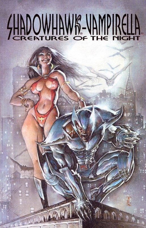shadowhawk&Vampirella di Jim Valentino