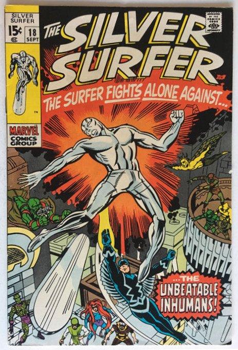 SILVER SURFER 18 (1970)