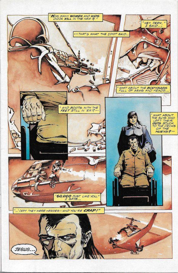 the Light and Darkness War #1  pagina 1 (Epic comics - Marvel comics)