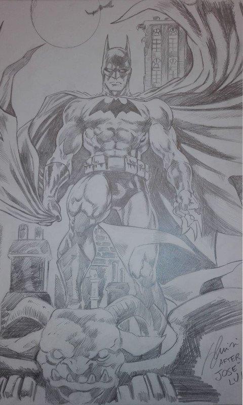 Tributo a Bat-Man del disegnatore José Luís