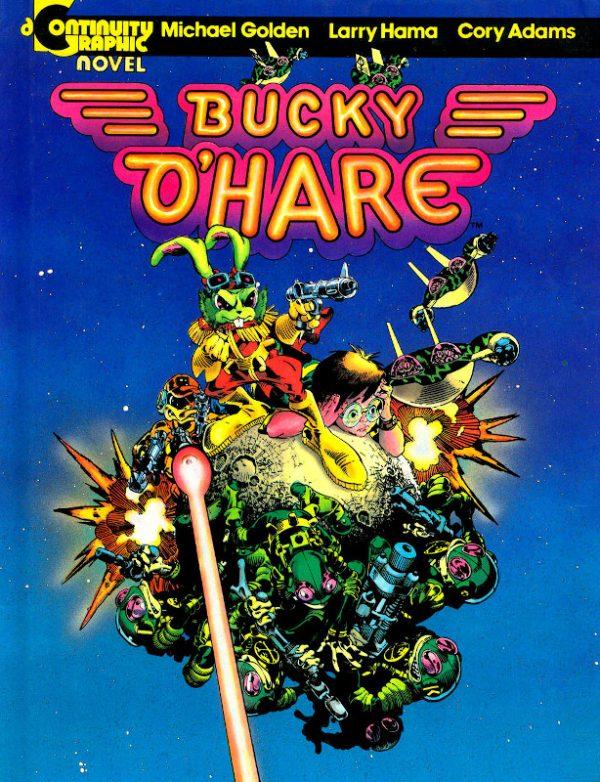 Bucky O'Hare per la Conitnuity Comics di Neal Adams.