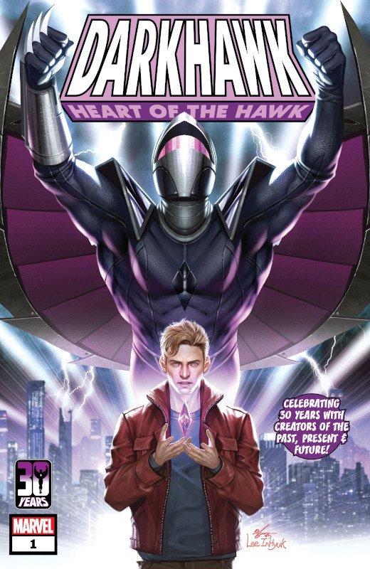 Il ritorno di Darkhawk (Marvel Comics) - cover