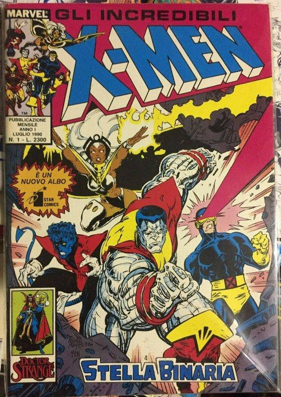 X-men , 1 star comics, luglio 1990
