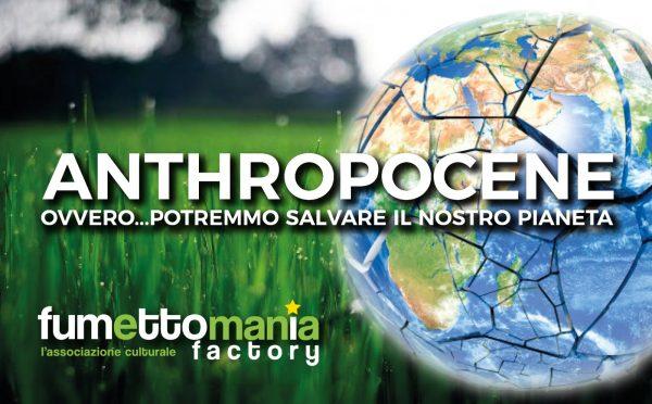 Banner-copertina del progetto Anthropocene, realizzato da Tonino Mancuso