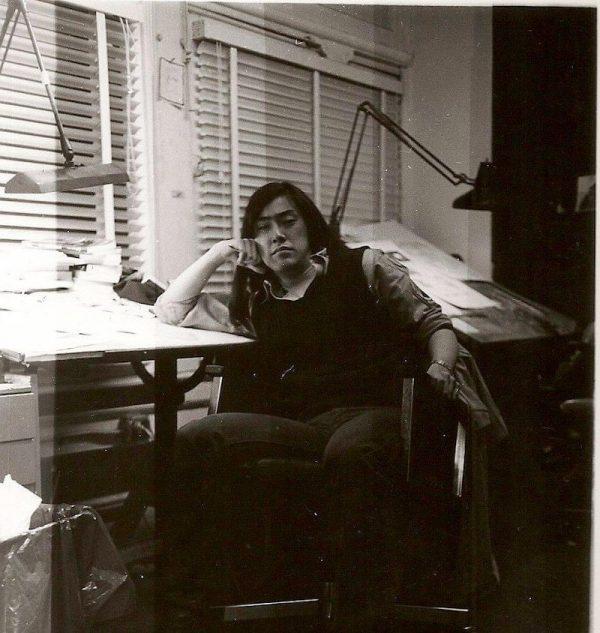 foto di un giovane Larry Hama