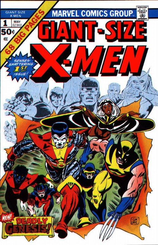 giant-size x-men #1 - maggio 1975