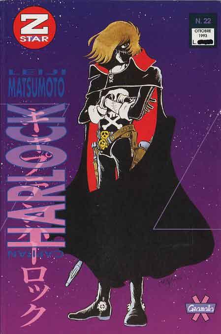 Harlock #22, collaana della Granata Press