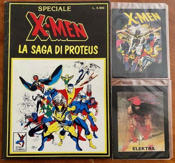 speciale X-Men-saga di proteus, di cui ha scritto A. Monti nell'articolo del dic. 1988