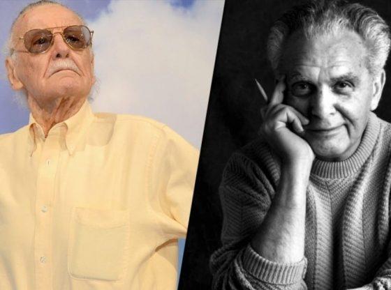 Immagine con Stan lee e Jack Kirby, estratta dal sito afNews, che si ringrazia