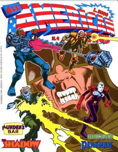 ALL AMERICAN COMICS, copertina del n.4