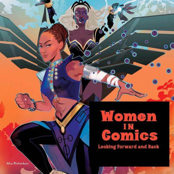 Opera di Afua Richardson (poster mostra NewYork) che potrete ammirare nella mostraWomen in Comics