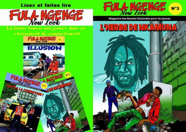 Comics di Albert Luba Ntolila