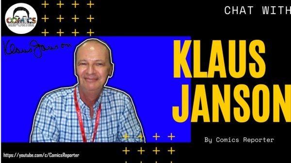 Banner-copertina intervista a Klaus Janson