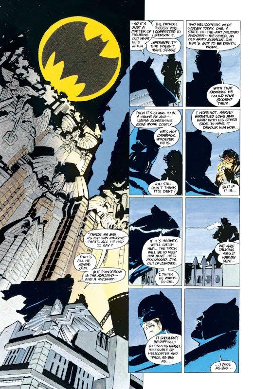 "pagina estratta da ""Batman- The Dark Knight Returns  #1"""