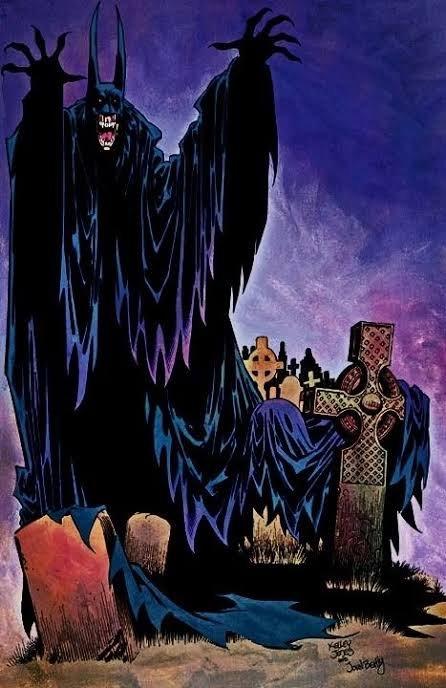 Batman disegnato da Kelly Jones