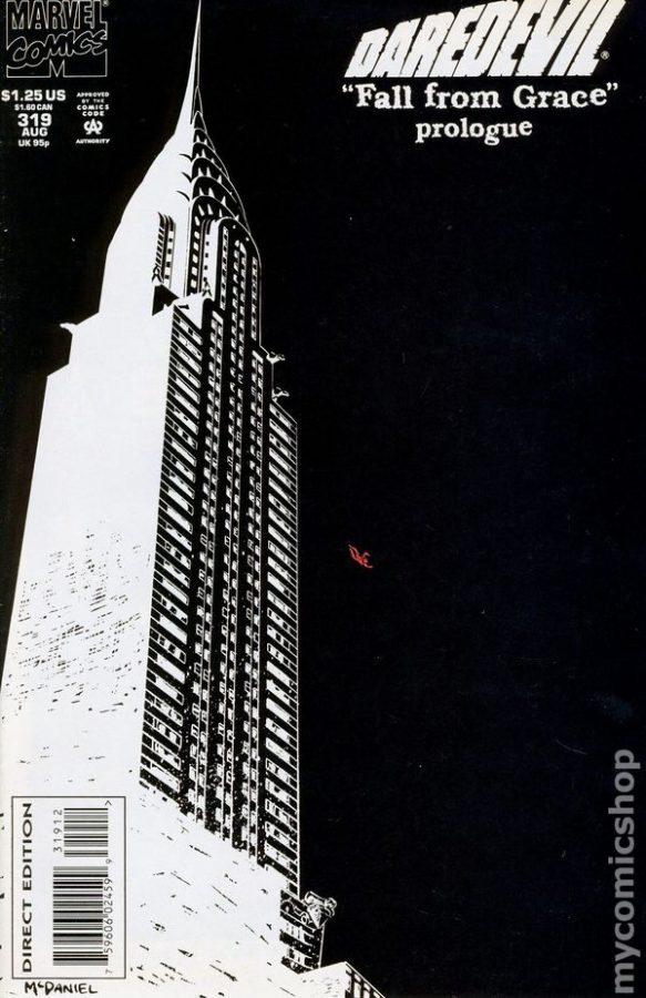 DAREDEVIL 319 (glow in the dark).  Cover